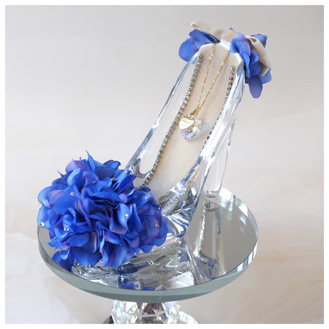 【プロポーズ・シンデレラのガラスの靴】ブルー
