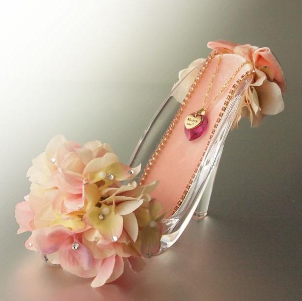 【プロポーズ・シンデレラのガラスの靴】ピンク