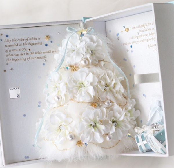 クリスマスカードプロポーズ