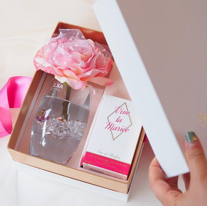 フレグランスローズ(バラ&香水セット)